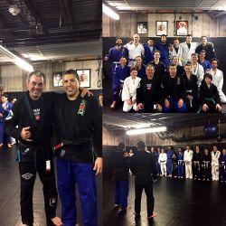 Aspen MMA Belt Promotion, Receiving my Black Belt from Prof Eduardo de Lima, Feb 2017