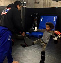 Aspen MMA during Kids Muay Thai Class