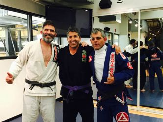 Luciano & my Professor, Eduardo de Lima, Aspen MMA 2015