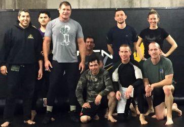Larry Biggs Seminar at Aspen MMA Dec 2015