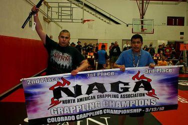 NAGA Tournament, Nick receiving 2nd place, Mar 2010