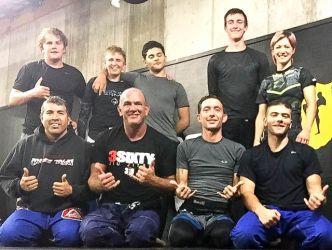 Prof Dave Brocklehurst dropping in at Aspen MMA Aug 2016